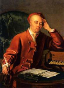 Handel by Philip Mercier, c. 1730