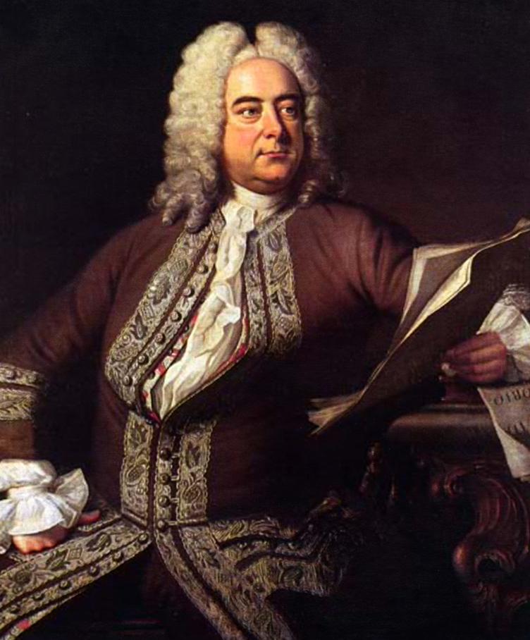 Portrait of George Frideric Handel by Thomas Hudson, 1748