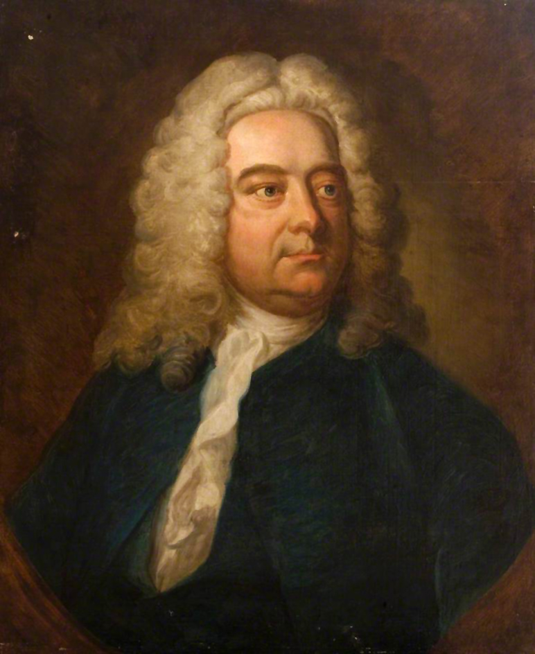 Portrait of George Frideric Handel, by Thomas Hudson